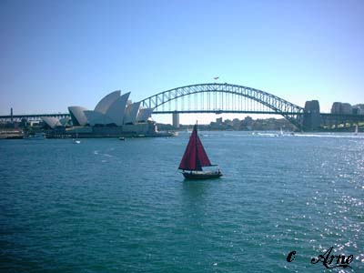 Sydney Harbour Bridge with the Opera House